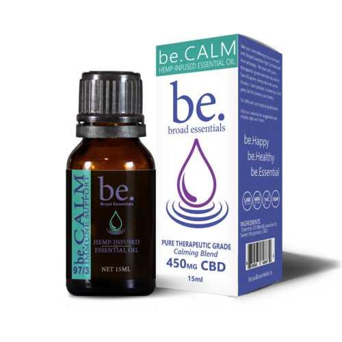 be.Calm Immune Boosting CBD Essential Oil Blend | 15ml | 450mg