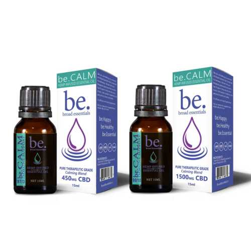 be.Calm Immune Boosting CBD Essential Oil Blend | 15ml | 450mg or 1500mg
