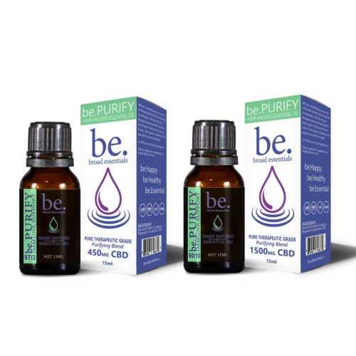be.Purify Immune Boosting CBD Essential Oil Blend | 15ml | 450mg or 1500mg