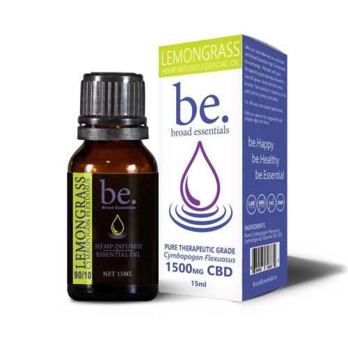 Frankincense CBD Essential Oils | 1500mg CBD - High CBD Aromatherapy | Broad Essentials