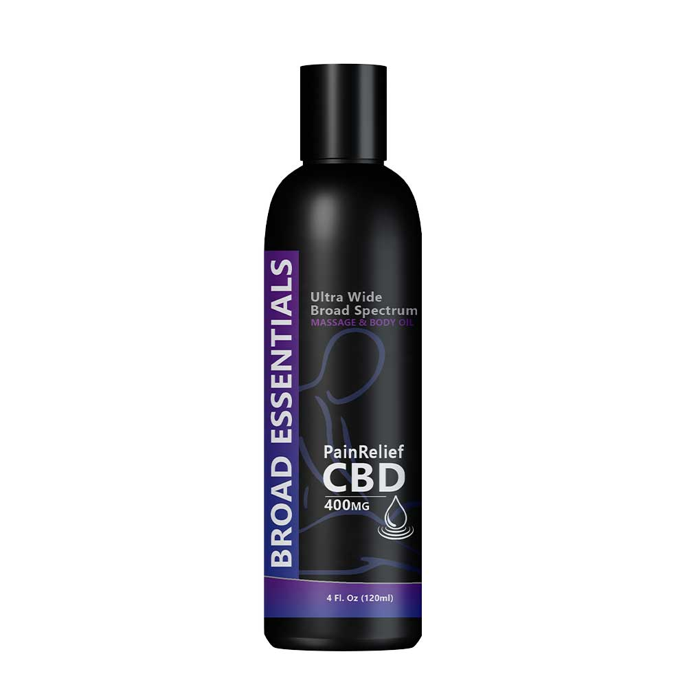 CBD Massage Oil - Pain Relief | 400mg