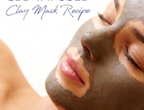 DIY CBD Infused Bentonite Clay Face Mask Recipe For Acne And Oily Skin